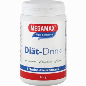 Abbildung von Megamax Diät Drink Schokolade Einzelportion Pulver 425 g