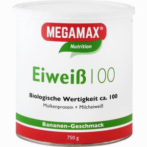 Abbildung von Megamax Eiweiß 100 Banane Pulver  750 g