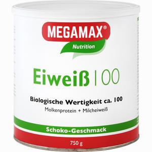 Abbildung von Megamax Eiweiß 100 Schoko Pulver 750 g