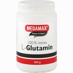 Abbildung von Megamax L- Glutamin 100% Reines Pulver  500 g
