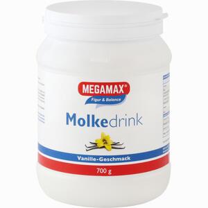Abbildung von Megamax Molkedrink Vanille Pulver 700 g