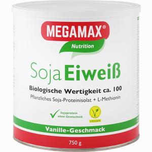 Abbildung von Megamax Soja Eiweiss Vanille Pulver 750 g