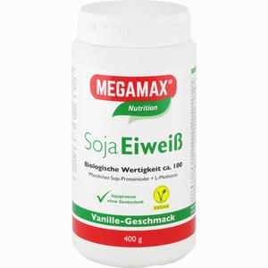 Abbildung von Megamax Soja Eiweiss Vanille Pulver 400 g
