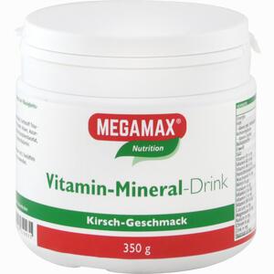 Abbildung von Megamax Vitamin- Mineral- Drink Kirsch Pulver 350 g