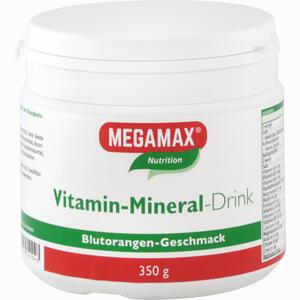Abbildung von Megamax Vitamin- Mineral- Drink Orange Pulver 350 g
