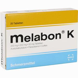 Abbildung von Melabon K Tabletten 20 Stück