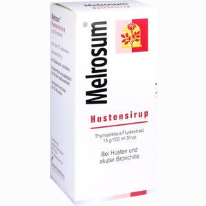 Abbildung von Melrosum Hustensirup  250 ml