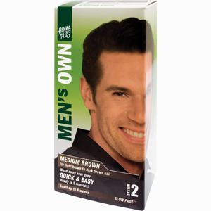 Abbildung von Mens Own Medium Brown Creme 80 ml