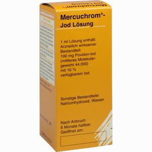 Abbildung von Mercuchrom Lösung 100 ml
