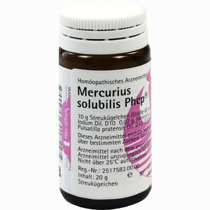 Abbildung von Mercurius Solubilis Phcp Globuli 20 g