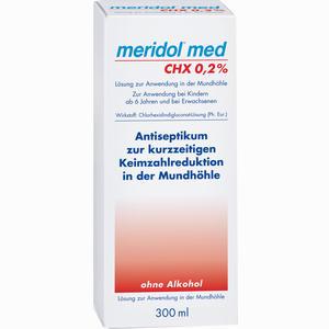 Abbildung von Meridol Med Chx 0.2% Spülung Lösung 300 ml