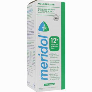 Abbildung von Meridol Sicherer Atem Mundspülung Lösung 400 ml