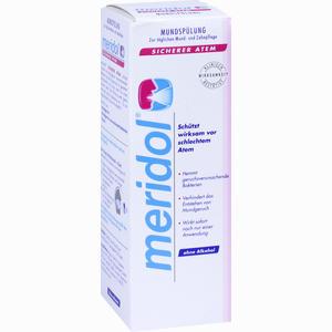 Abbildung von Meridol Sicherer Atem Mundspülung Lösung 100 ml