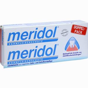 Abbildung von Meridol Zahnpasta Doppelpack  2 x 75 ml