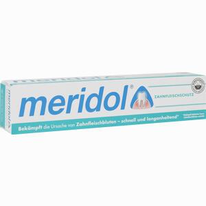 Abbildung von Meridol Zahnpasta mit Faltschachtel  75 ml