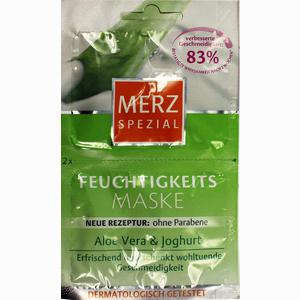 Abbildung von Merz Spezial Feuchtigkeitsmaske Aloe Vera&joghurt Gesichtsmaske 2 x 7.5 ml