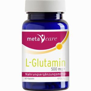 Abbildung von Meta Care L- Glutamin Kapseln 60 Stück