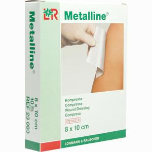Abbildung von Metalline Kompresse 8x10 Cm Steril Kompressen 10 Stück