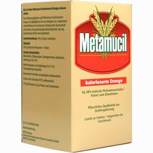 Abbildung von Metamucil Kalorienarm Orange Pulver 30 x 5.8 g