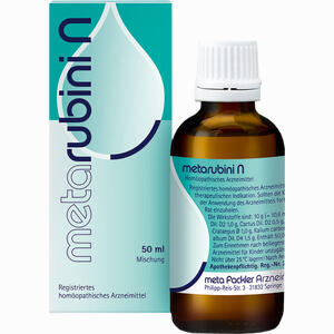 Abbildung von Metarubini N Tropfen 50 ml