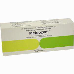 Abbildung von Meteozym Filmtabletten 20 Stück