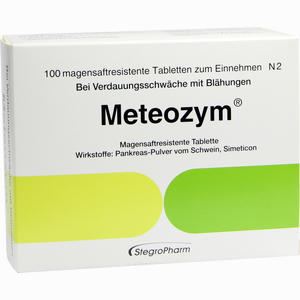 Abbildung von Meteozym Filmtabletten 100 Stück