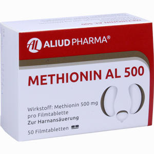 Abbildung von Methionin Al 500 Filmtabletten 50 Stück