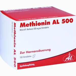 Abbildung von Methionin Al 500 Filmtabletten 100 Stück