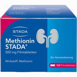 Abbildung von Methionin Stada 500mg Filmtabletten 100 Stück