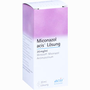 Abbildung von Miconazol Acis Lösung  20 ml