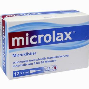 Abbildung von Microlax Klisterie Klistier Emra-med 12 Stück