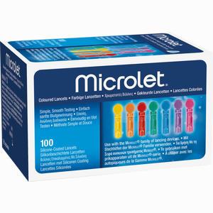 Abbildung von Microlet Lanzetten  Bayer vital 100 Stück