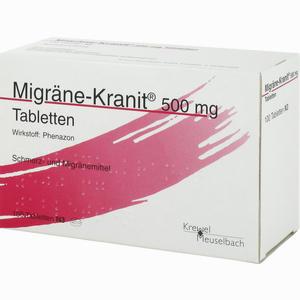 Abbildung von Migräne- Kranit 500mg Tabletten  100 Stück