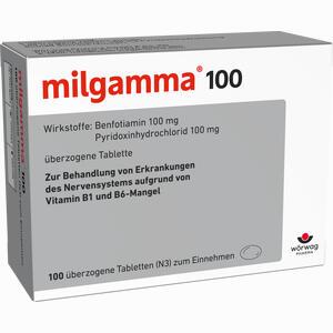 Abbildung von Milgamma 100mg Dragees 100 Stück