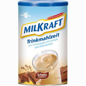 Abbildung von Milkraft Trinkmahlzeit Schokogeschmack Pulver 480 g