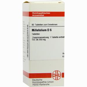 Abbildung von Millefolium D6 Tabletten 80 Stück