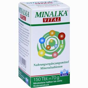 Abbildung von Minalka Tabletten 150 Stück