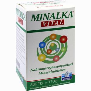 Abbildung von Minalka Tabletten 360 Stück