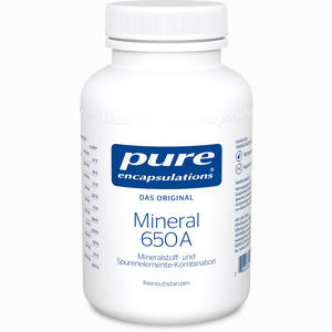 Abbildung von Mineral 650a Kapseln 180 Stück