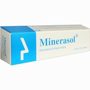 Abbildung von Minerasol Mineralische Nasensalbe  20 g