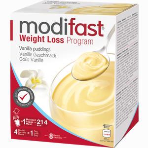 Abbildung von Modifast Programm Creme Vanille Pulver 8 x 55 g