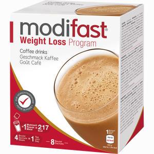Abbildung von Modifast Programm Drink Kaffee Pulver 8 x 55 g