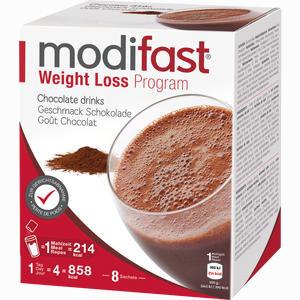 Abbildung von Modifast Programm Drink Schokolade Pulver 8 x 55 g