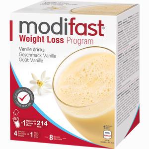 Abbildung von Modifast Programm Drink Vanille Pulver 8 x 55 g