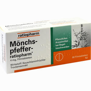 Abbildung von Mönchspfeffer- Ratiopharm Filmtabletten 60 Stück