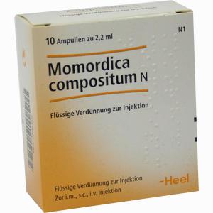 Abbildung von Momordica Compositum N Ampullen 10 Stück