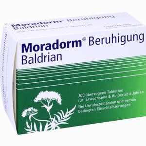 Abbildung von Moradorm Beruhigung Baldrian Tabletten 100 Stück