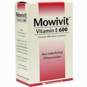 Abbildung von Mowivit 600 Kapseln 100 Stück