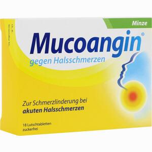Abbildung von Mucoangin Minze 20mg Lutschtabletten  18 Stück
