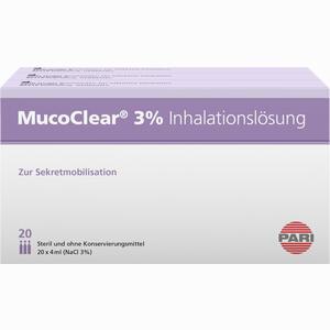 Abbildung von Mucoclear 3% Nacl Inhalationslösung 60 x 4 ml